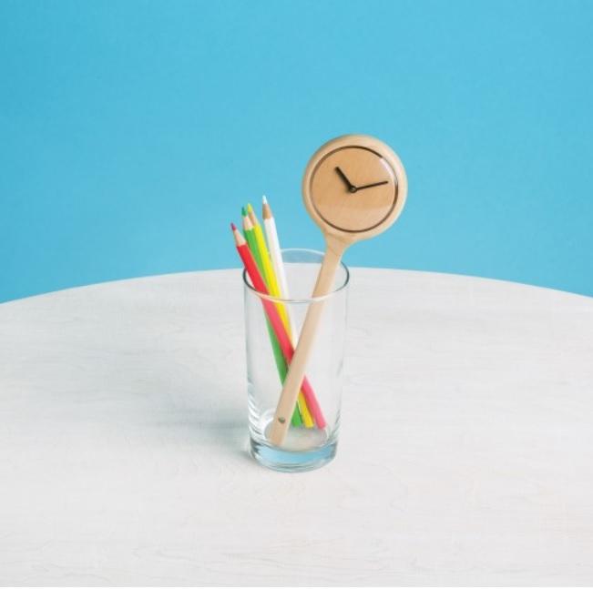 spoon clock
