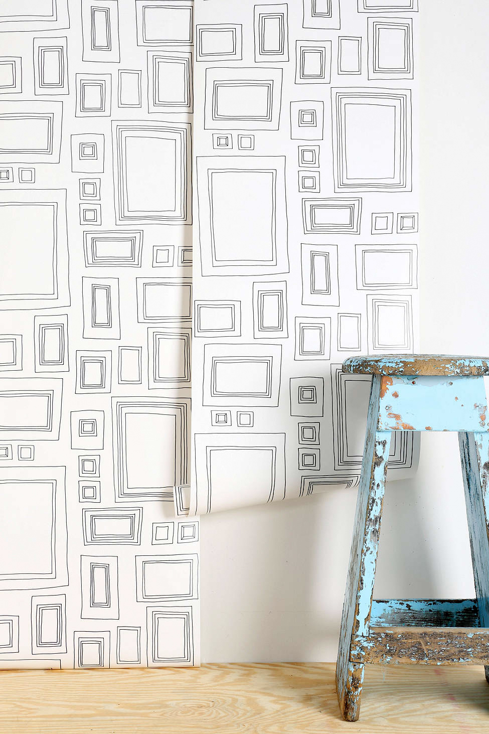 Graham & Brown Frame Wallpaper, Urban Outfitters