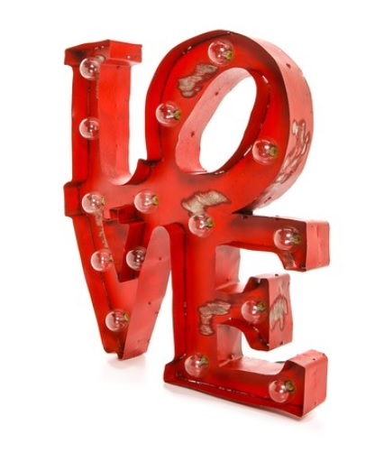Gift Boutique Love Light Sign, Shopbop $227.39