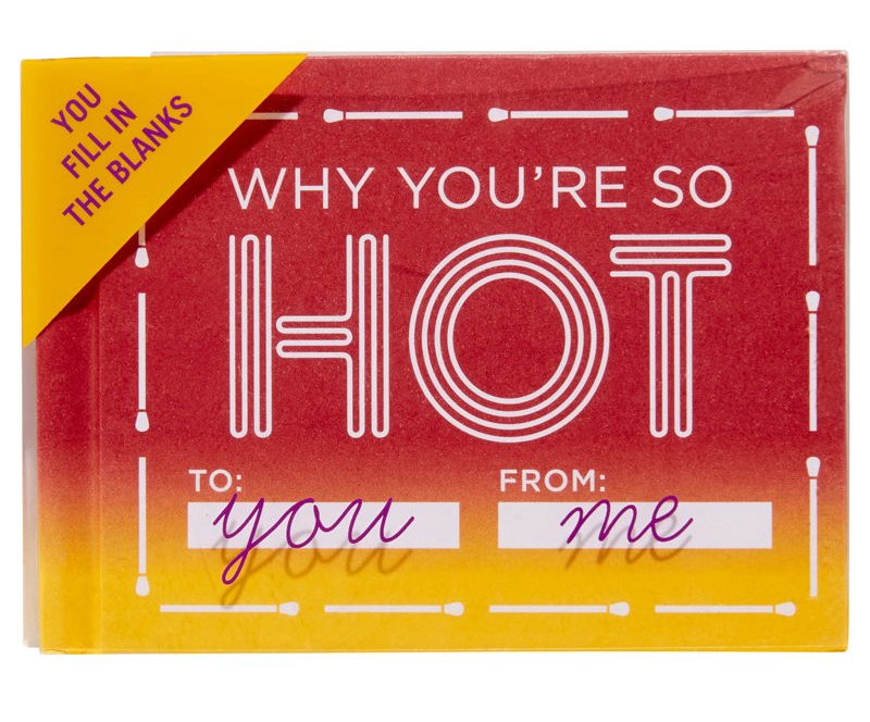 Why You're So Hot Fill In Book, by Knock Knock, Chapters/Indigo $11