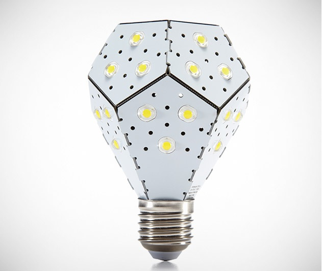 NanoLeaf Bloom – The world's most energy efficient light bulb and 1st dimmable light bulb that doesn't require a dimmer switch. All you need is a regular light switch and you can initiate dimming with a simple off/on flick of the switch and then lock it in by doing the same thing.