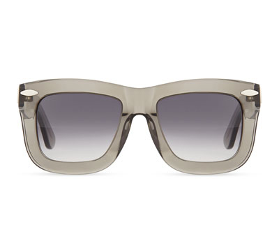 Grey Ant Status Thick Plastic Sunglasses in Smoke, Neiman Marcus $341.47