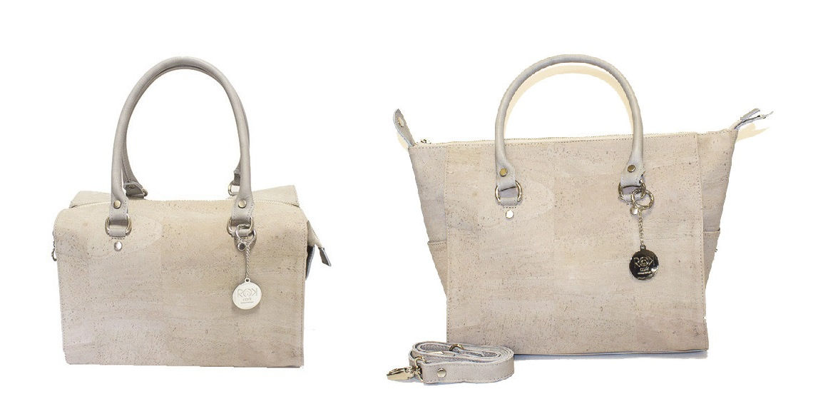 Marchesa Bag by Rok Cork - an emerging Canadian brand offering one of a kind fashion accessories made of Cork, a 100% sustainable and renewable material, which is amazingly lightweight.