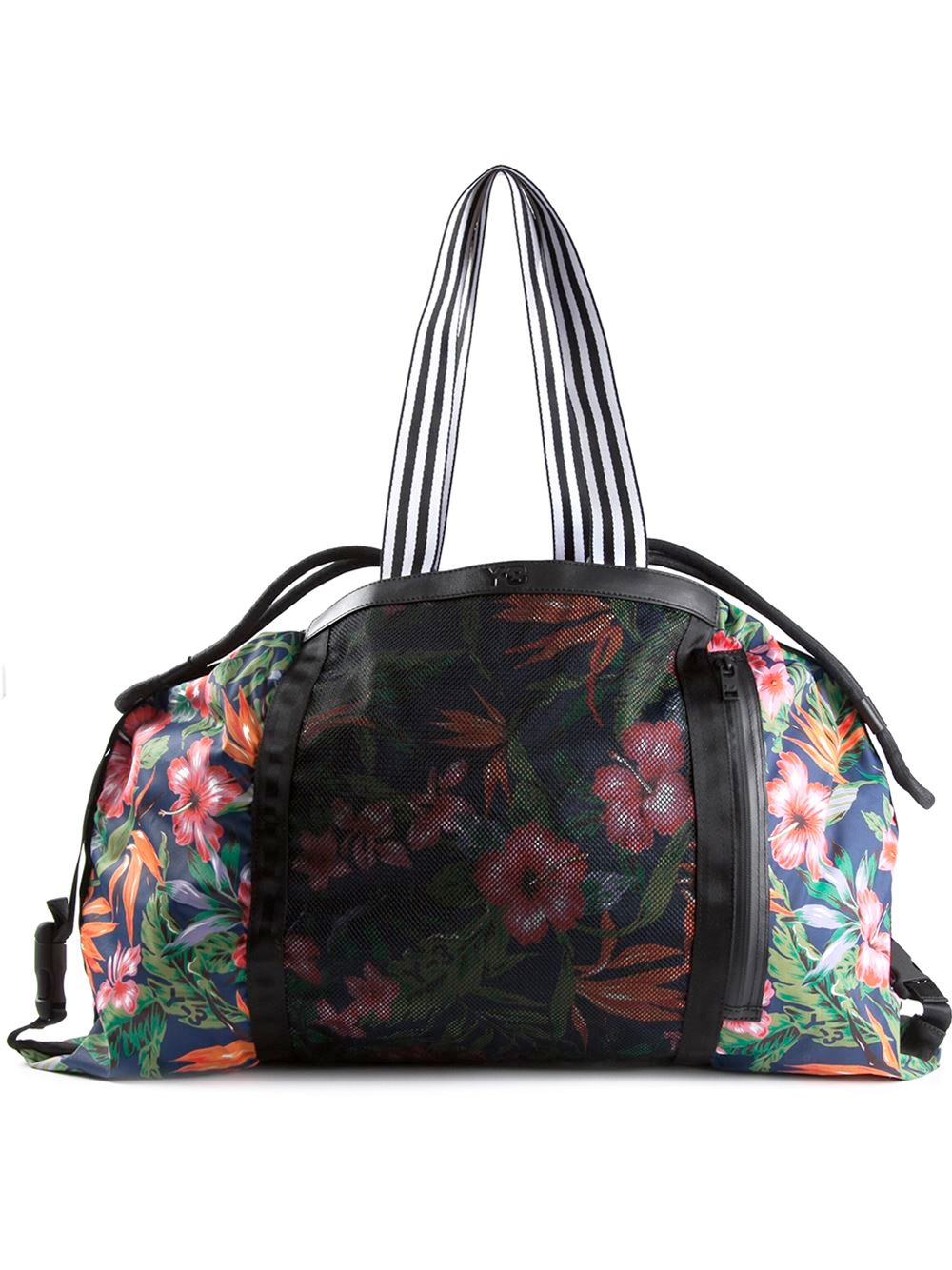 Y-3 Floral Print Weekender Bag, Farfetch