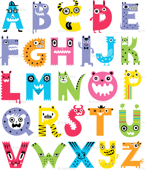 Free Printable Word Wall Alphabet Letters