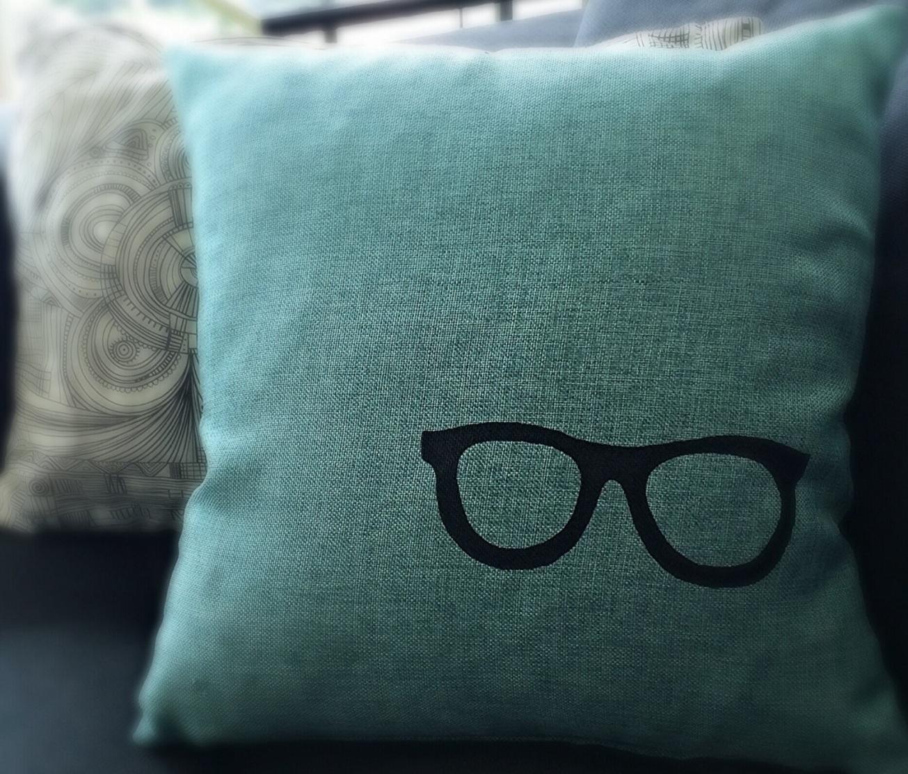 Hipster Pillow, A Morbid Tale