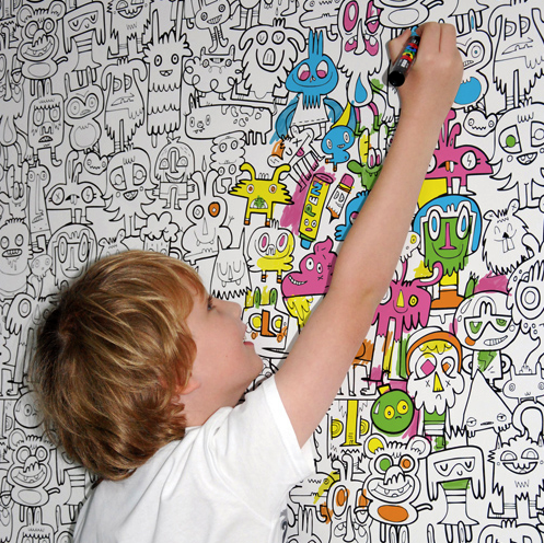 Creative Color-In Wallpaper, Artful Kids http://artful-kids.com/creative-colour-in-wallpaper-138