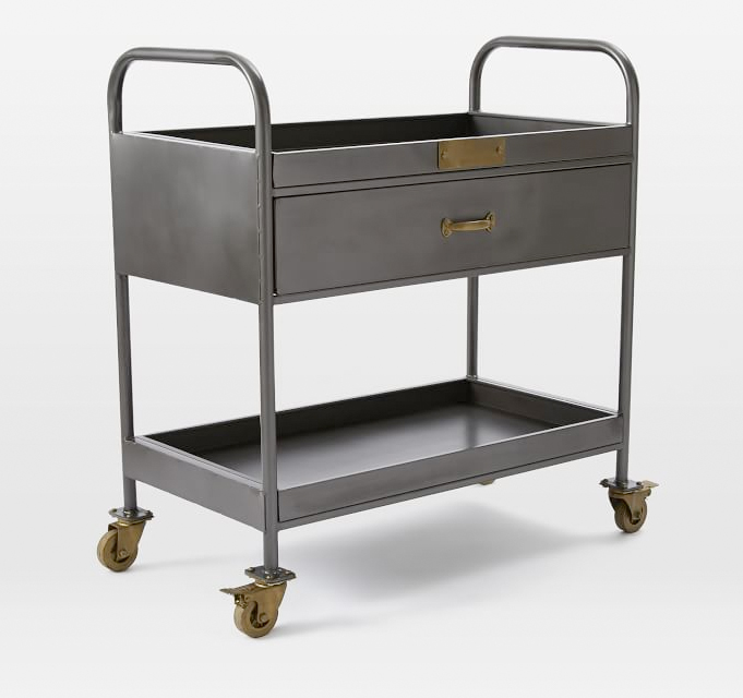 Workshop Bar Cart, West Elm