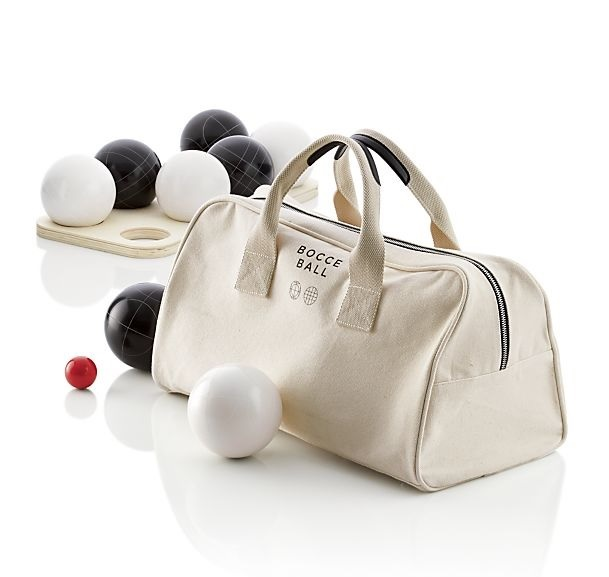 Bocce Set, Crate and Barrel $149.99