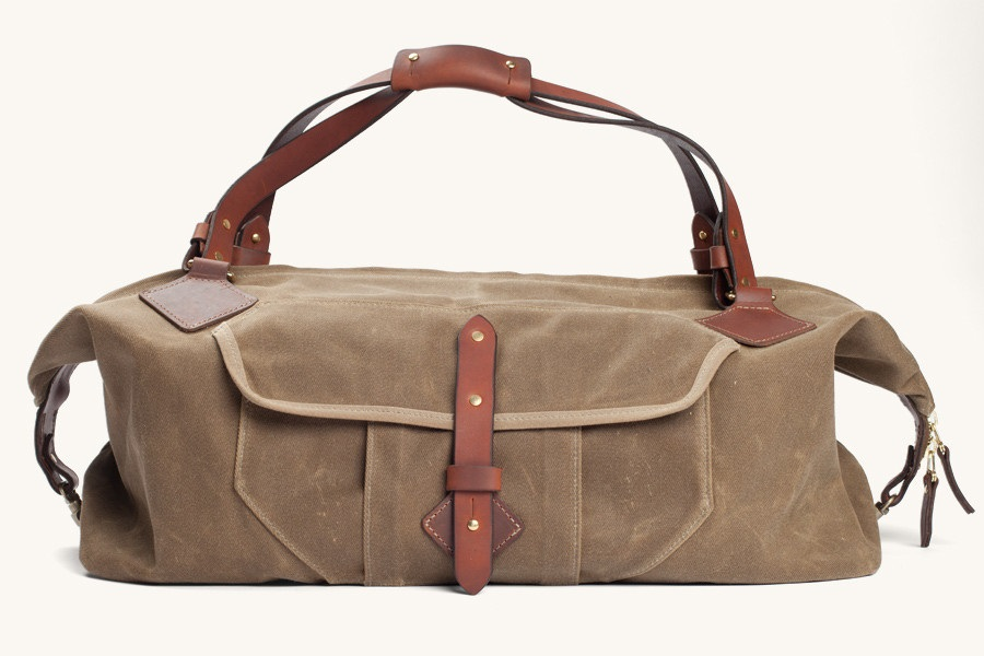 Nomad Duffle - Waxed Field Tan, Tanner Goods $550