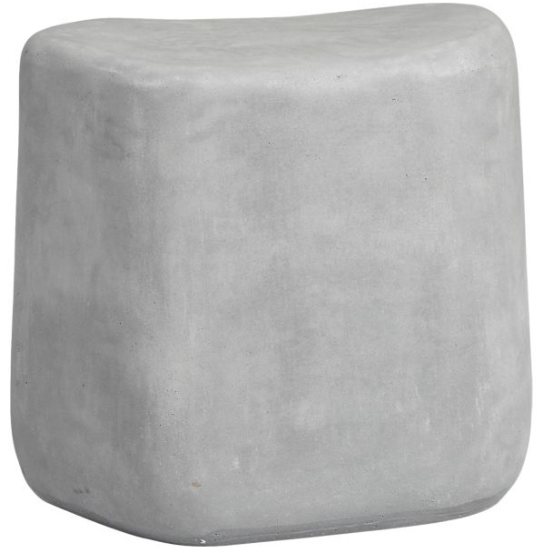 Tall Stone Stool, Crate and Barrel $179