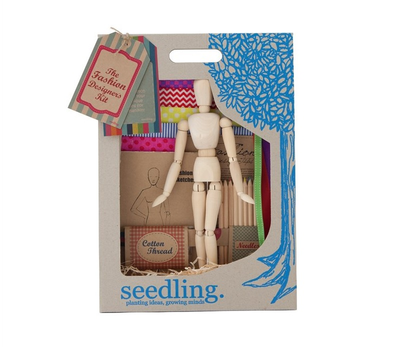 "Taking ""Fashion Plates"" to a whole new level - Seedling: The fashion designers kit by Seedling, Chapters/Indigo $49.95"
