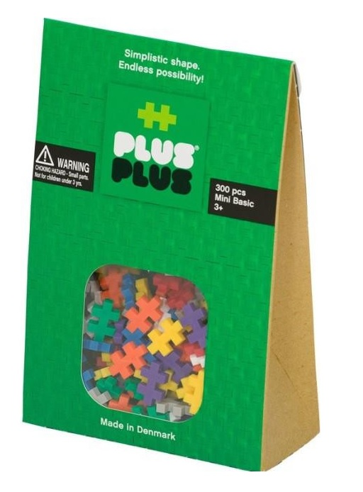 Plus-Plus Mini Basic, 300 Pieces, Treasure Island Toys $21.99