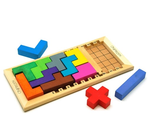 Tetris meets Geometry in Katamino Game, Mastermind Toys $39.99