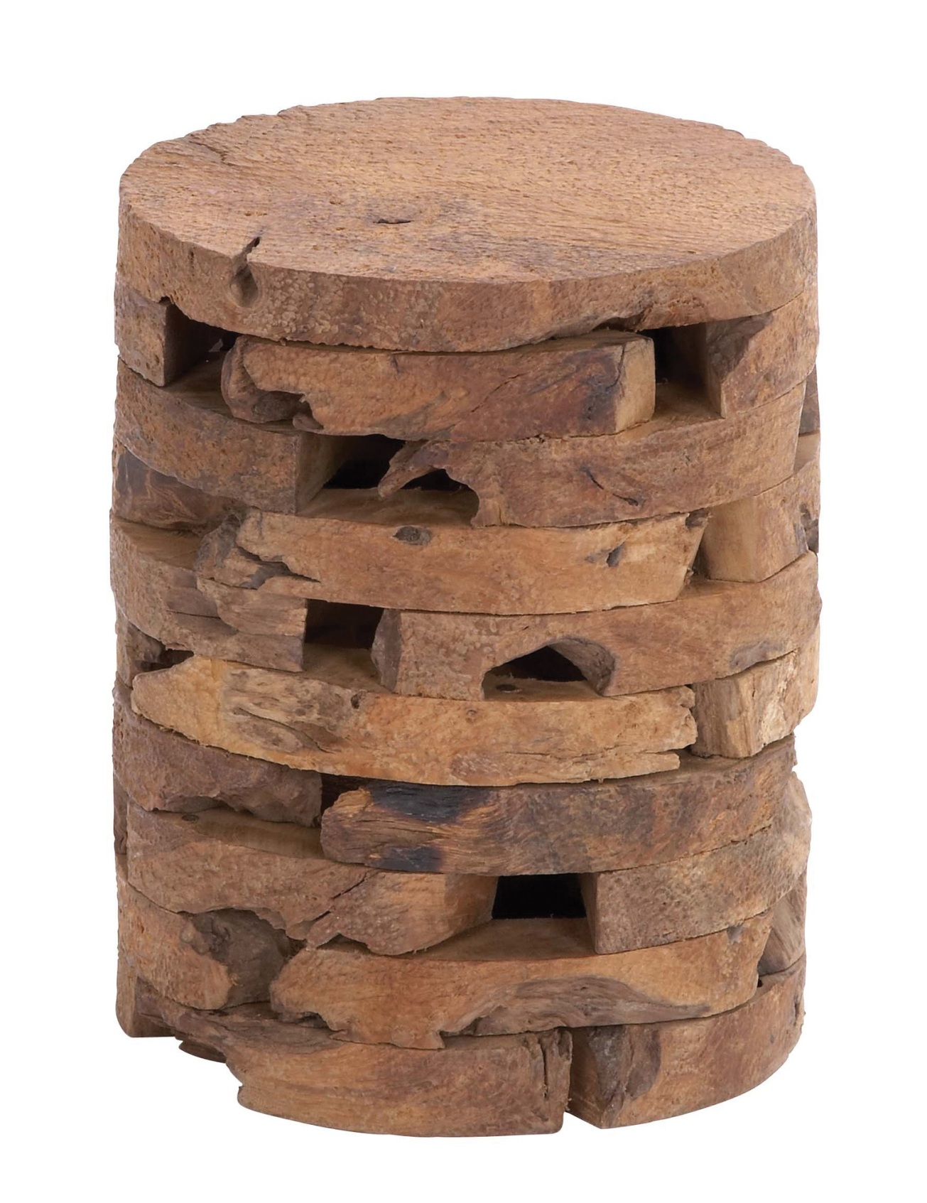 Wooden Teak Stool by Woodland Imports, All Modern $149.99