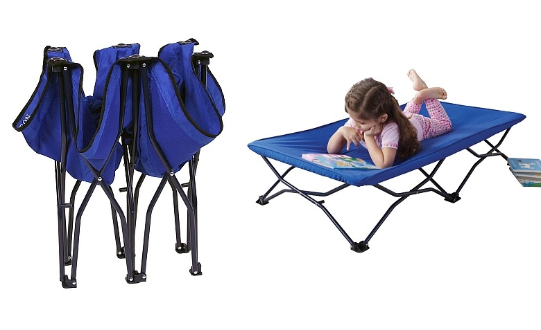 Regalo My Cot Portable Children's Travel Cot, Toys R Us $44.99