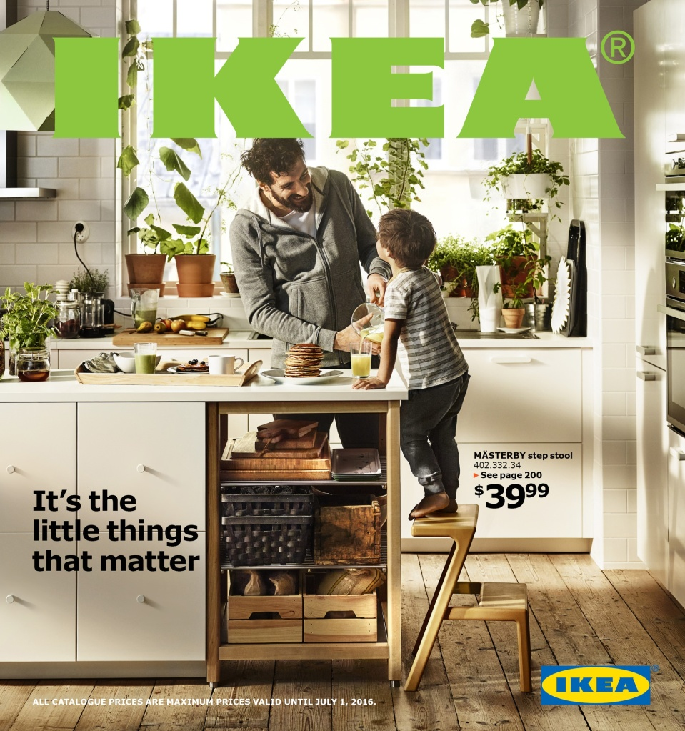 Front Cover of the 2016 IKEA Catalogue (CNW Group/IKEA Canada)