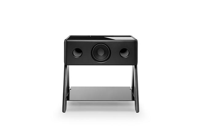 La Boite concept - Cube - Thruster 2.1 - collaboration Samuel Accoceberry - Noir Mat - Vue de face