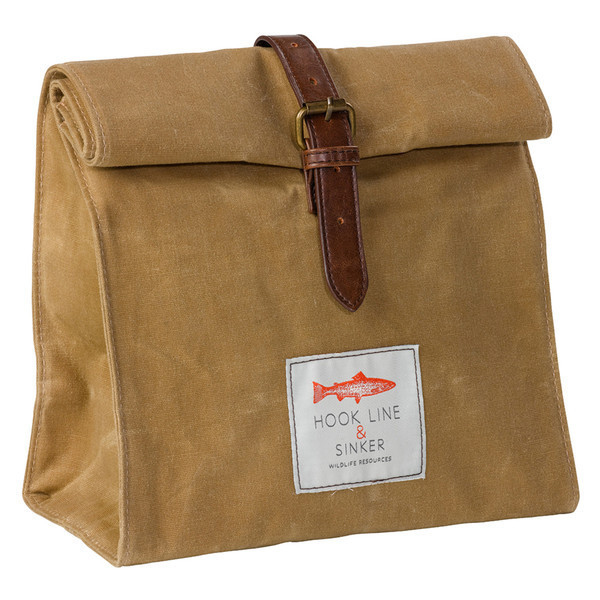canvas lunchbag