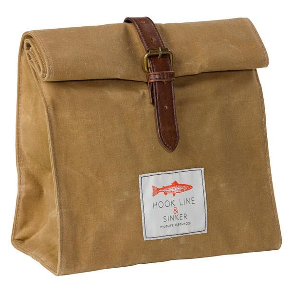 canvas lunchbag